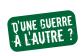 Logo d'une guerre à l'autre
